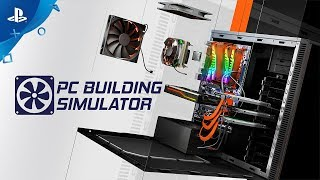 Pc Building Simulator - Trailer   Ps4