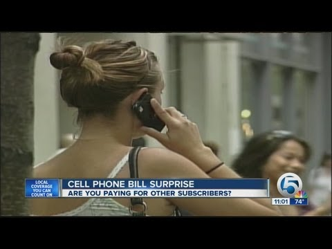 Cell Phone bill surprise