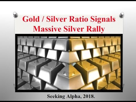 GOLD AND SILVER RATIO SIGNALS MASSIVE SILVER RALLY!