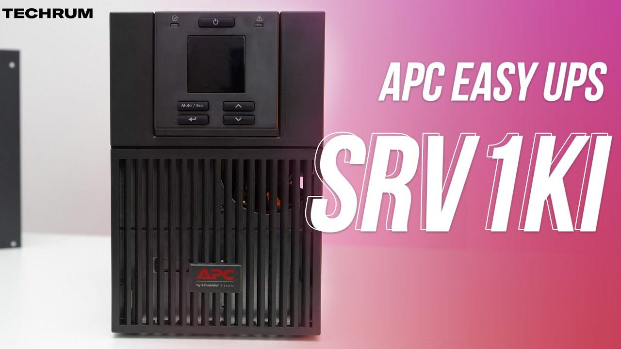 APC Easy UPS SRV1KI: Nhỏ gọn, công nghệ Double Conversion, màn hình điều khiển LCD kèm giá tốt