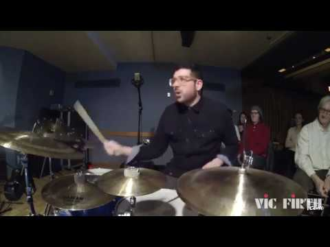 Mark Guiliana drums solo with Donny McCaslin Stadium Jazz