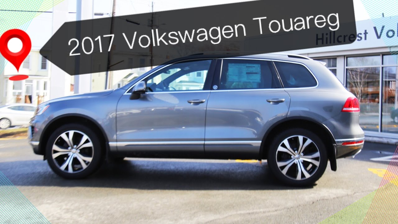 2017 Vw Touareg Wolfsburg Edition Best Value Suv