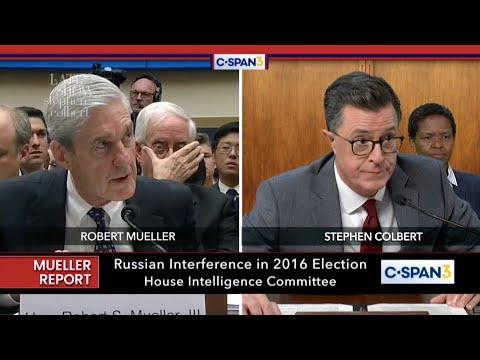Colbert Skewers Mueller's Testimony Secrecy, Trump's Twitter