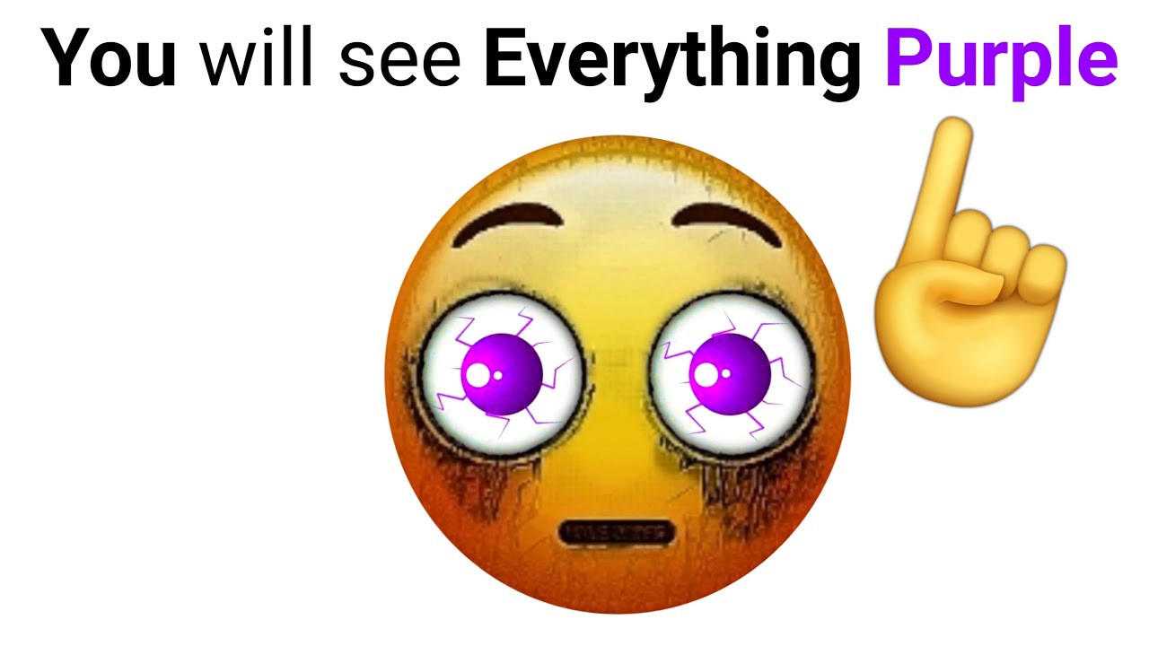 Download This Video will Make You See Everything in Purple Color!! 😱