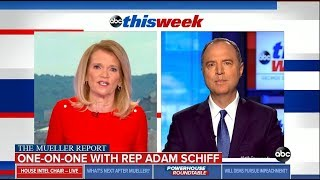 Rep. Schiff on ABC This Week: Obstruction Far Worse Than Anything Nixon Did