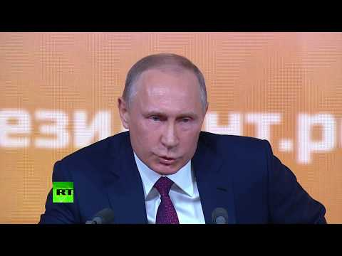 Download Youtube: Putin: It's not up to me to assess Trump as a president, it is up to the US people