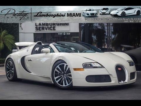 2011 Bugatti Veyron Grand Sport Matte White