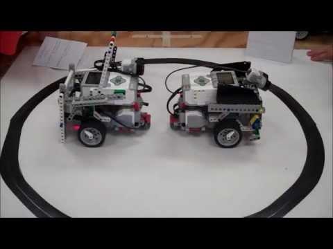Lego Ev3 Robot Sumo Wrestling Battlebots Challenge Youtube