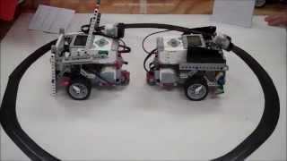 Lego EV3 Robot Sumo Wrestling BattleBots Challenge