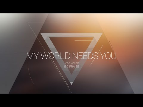 My World Needs You | OMNIPOTENT | Indiana Bible College – UPDATE