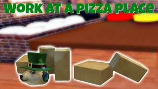 WHAT IS THIS TRAP? | Roblox Work At A Pizza Place Gameplay
