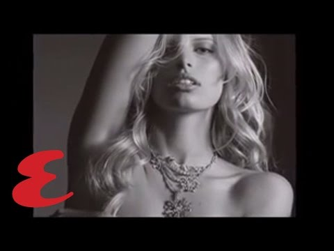 Karolina Kurkova in Diamond Necklace - Victoria's Secret