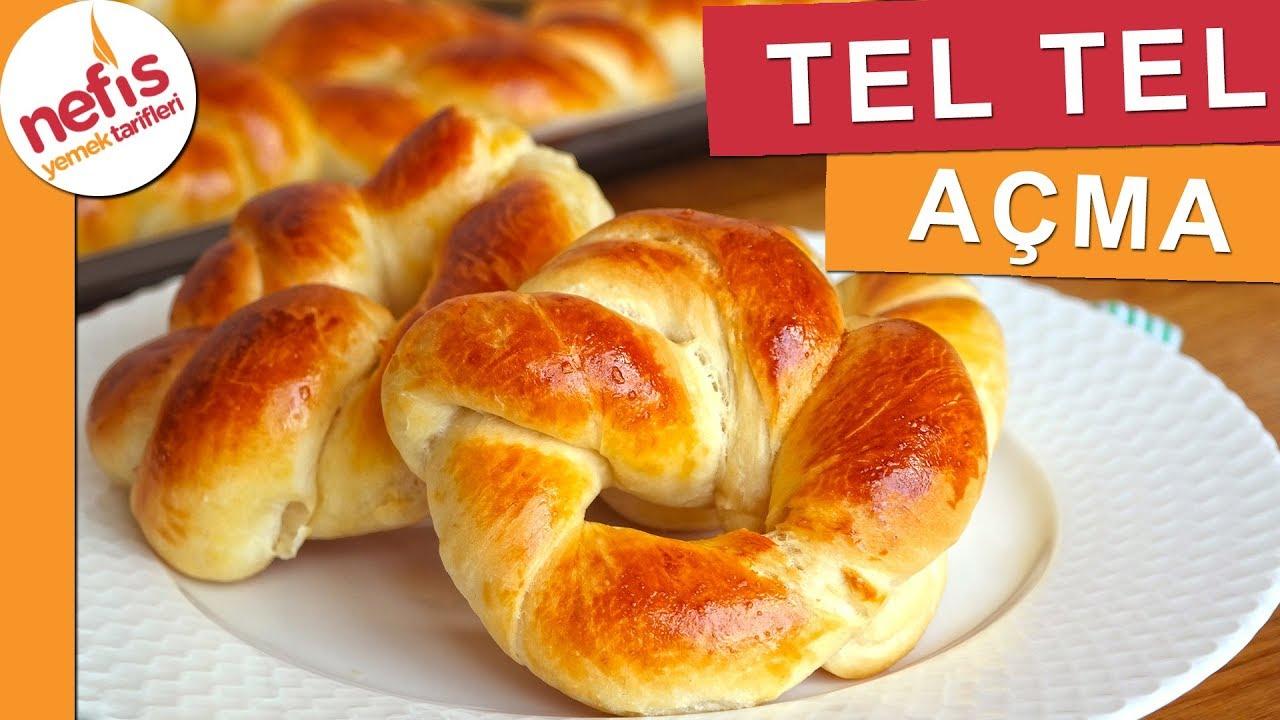 TEL TEL AÇILAN Pastane Açması Tarifi - Nefis Yemek Tarifleri