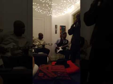 West African band at Mariam's Salon 1