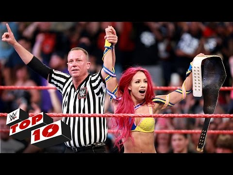 Top 10 Raw moments: WWE Top 10, July 25,...