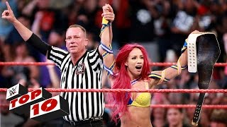 Top 10 Raw moments: WWE Top 10, July 25, 2016