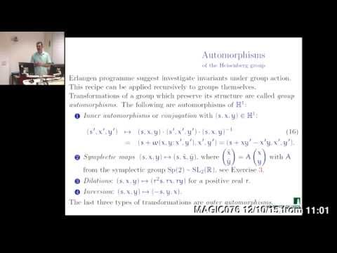 The Heisenberg group: Lecture 2