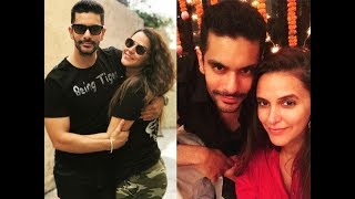 Neha Dhupia and Angad Bedi secret Marriage pics