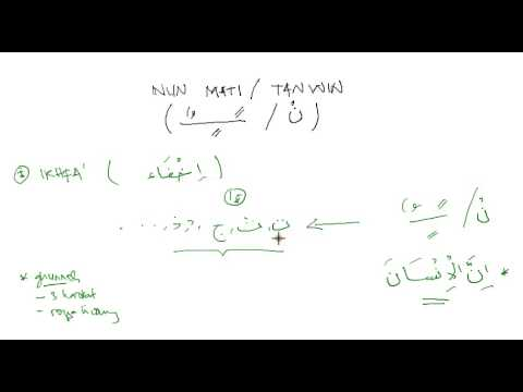 Video Cara Bacaan Ikhfa Haqiqi Funnydog Tv