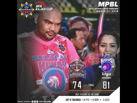 Bataan Defenders vs Bulacan Kuyas [MPBL] | March 17, 2018