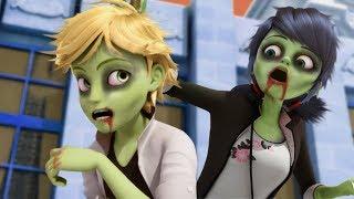 Маринетт и Адриан превратились в зомби! Miraculous Ladybug Speededit season 2