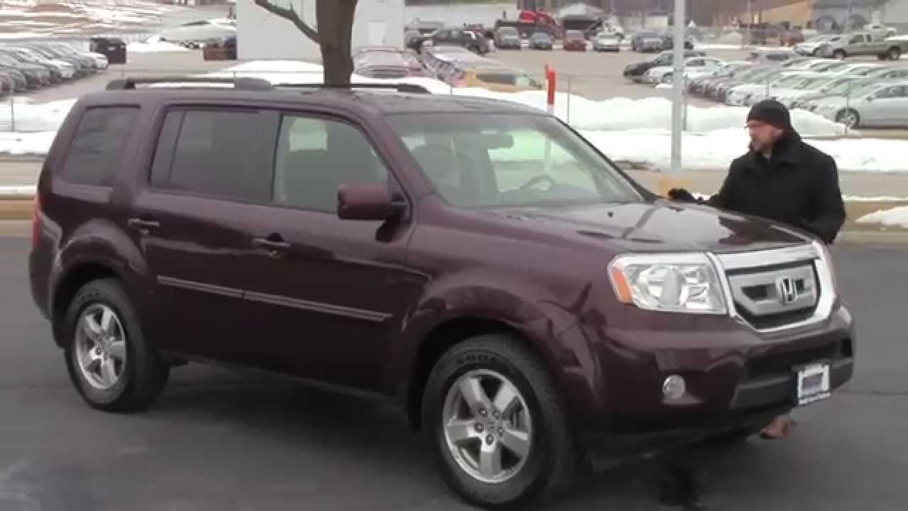 used 2009 honda pilot ex l 4wd for sale at honda cars of bellevue an omaha honda dealer youtube. Black Bedroom Furniture Sets. Home Design Ideas