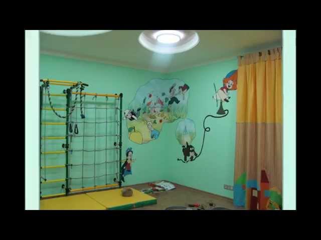 Роспись стен в детской   Наталья Боброва