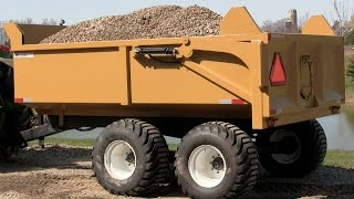12 Ton Heavy Duty Farm Dump Trailer by Berkelmans Welding and Custom Manufacturing Inc.