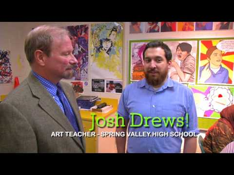 {WEB} Art Talk: Spring Valley HS Computer Art (2013)