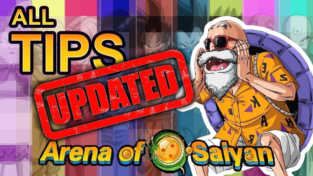 Arena of Saiyan - All tips updated