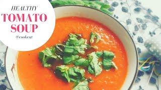 Томатный суп-пюре/Полезные рецепты/Правильное питание/ПП Суп