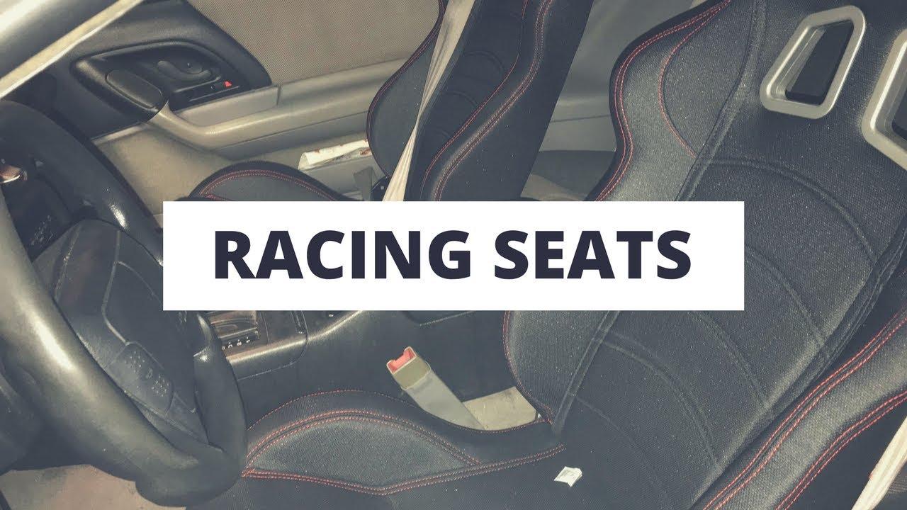 Racing Seats In The Camaro Z28 Install Youtube