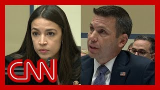 AOC confronts Trump\'s DHS chief