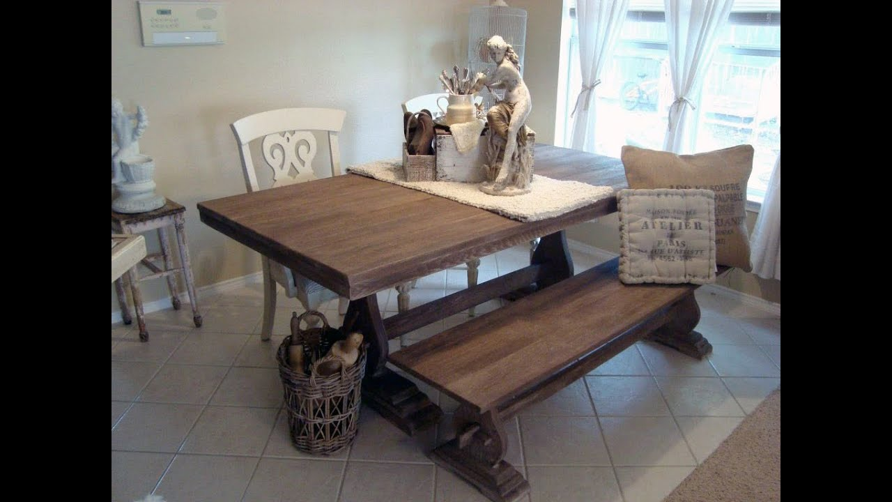 kitchen table with bench seating – home design and decorating