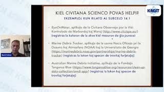 Civitana scienco por daŭripovo: jen vojo por esperantistoj – Mark Fettes | KAEST 2020