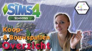 ☀️🍂 Sims 4 JAARGETIJDEN - Koop- en Bouwspullen ❄️🍃     EERSTE INDRUK/OVERZICHT (Nederlands)