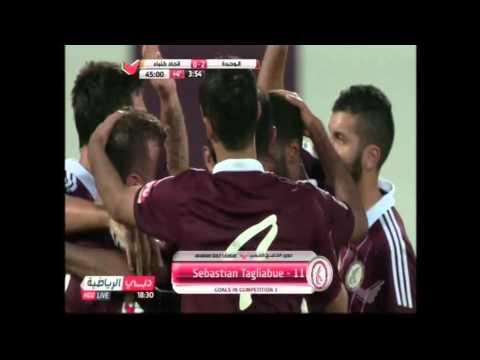 5  Al Wahda vs Kalba Goal by Sebastian Tagliabue Al Wahda