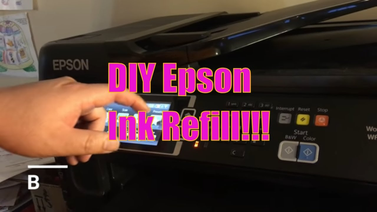 How to Reset Epson Ink Levels after Cartridge Refill e g , T277 T252 T273  T200