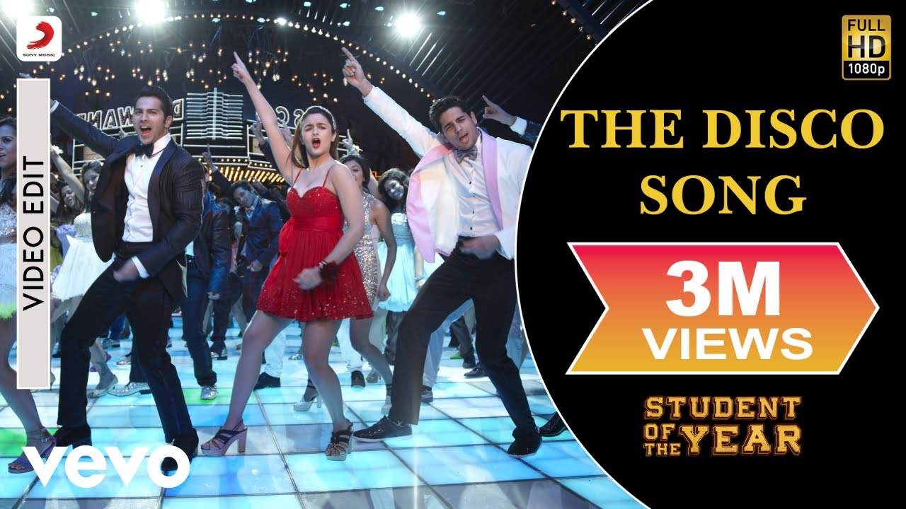 Disco Deewane Song From Student Of The Year Student Of The Year The Disco Song Alia Sidharth