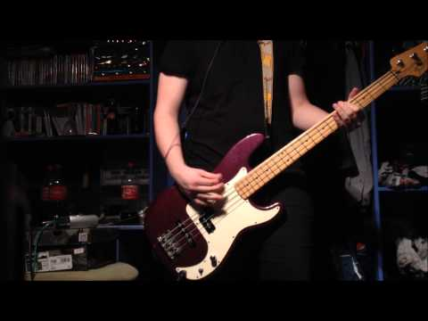 Green Day - J.A.R. (Jason Andrew Relva) Bass Cover