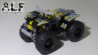 Lego Technic 42034 Quad Bike / Action Quad - Lego Speed Build Review