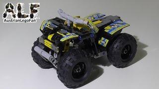 Lego Technic 42034 Quad Bike / Action Quad - Lego Speed Build Review