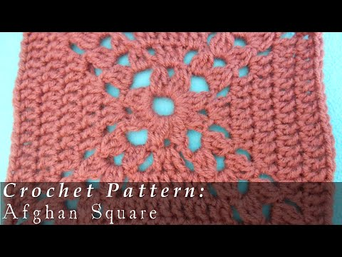 Afghan Square | Crochet Challenge 15/63