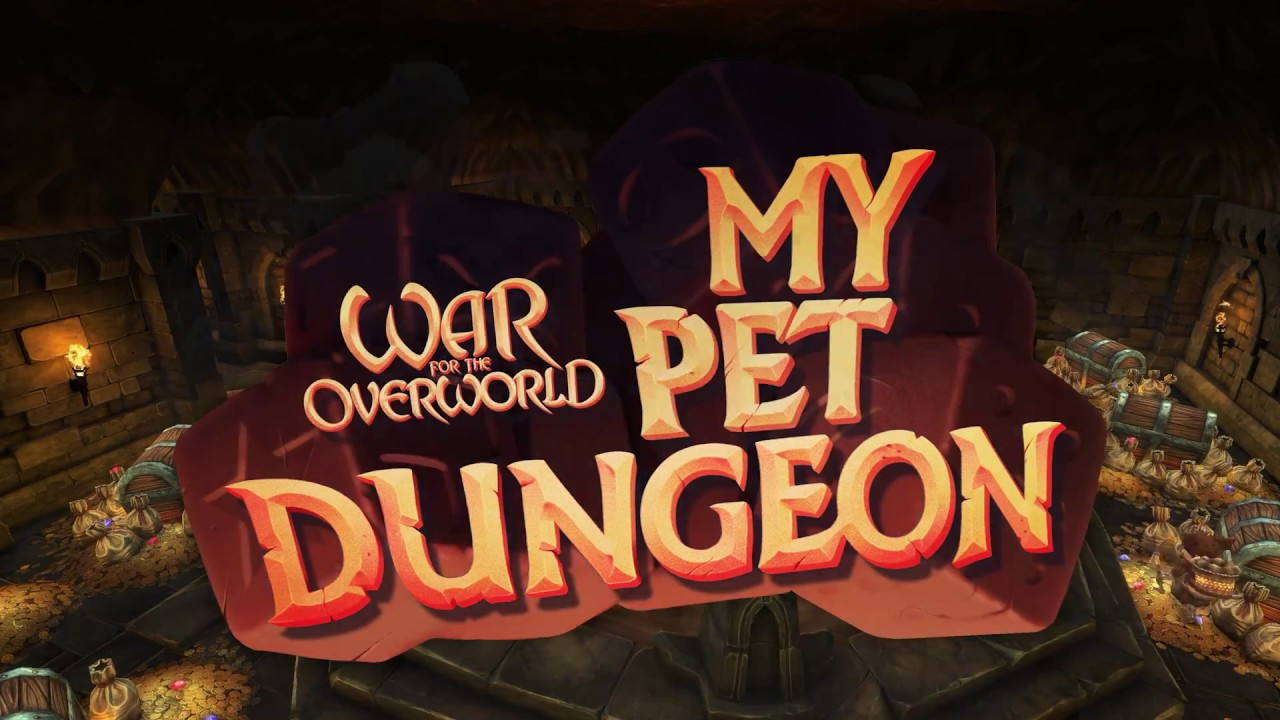 My Pet Dungeon Release Trailer War For The Overworld Youtube