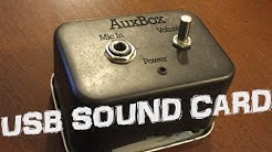 How to make a USB Sound Card