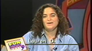WDZL 39 FUN ZONE 1991 LAUREN D INTERVIEWS ED SEEMAN