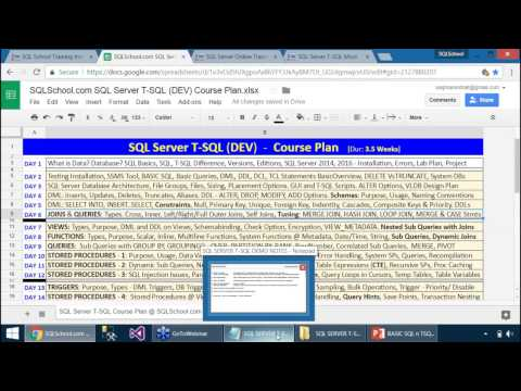 SSRS Video Training | SQL Server Reporting Services