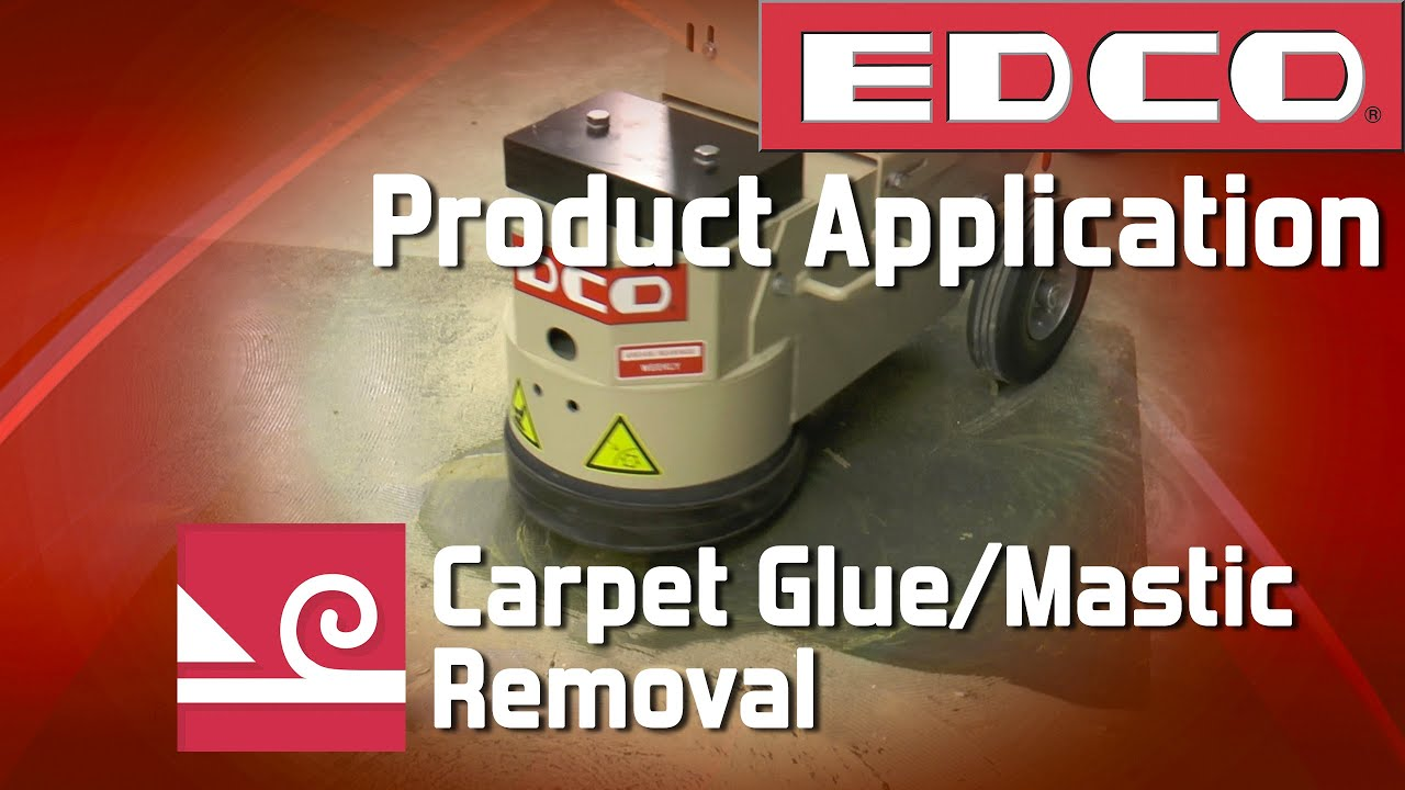 how to get hardened glue out of carpet