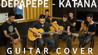 [GUITAR COVER] Katana (Depapepe) - Cacbonic band.