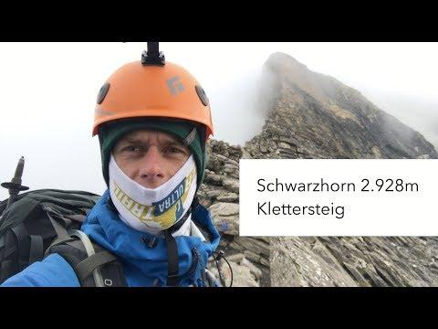 Schwarzhorn Klettersteig / Via Ferrata 2.928m (First / Grindelwald)